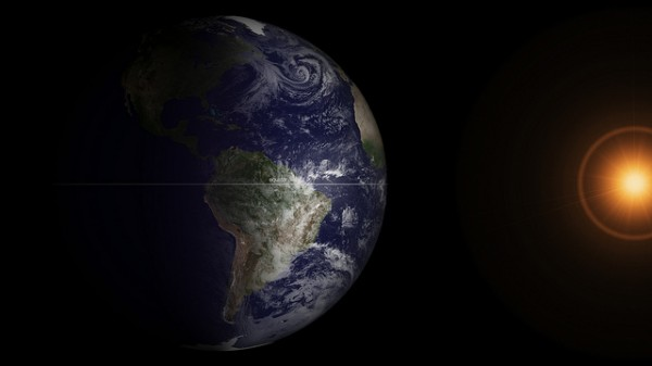 Spring Equinox 2013 From Space