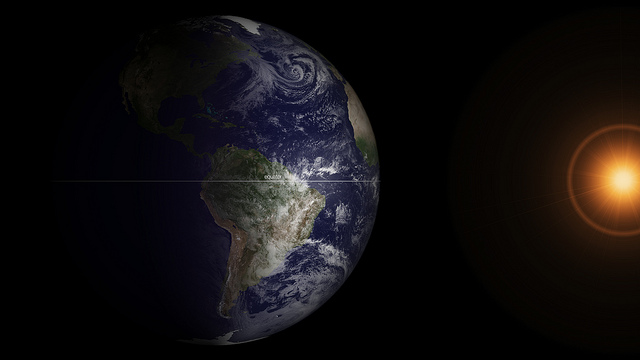 GOES Satellite Captures Spring Equinox