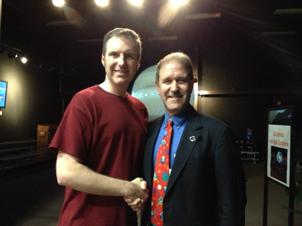 Me and John Grunsfeld
