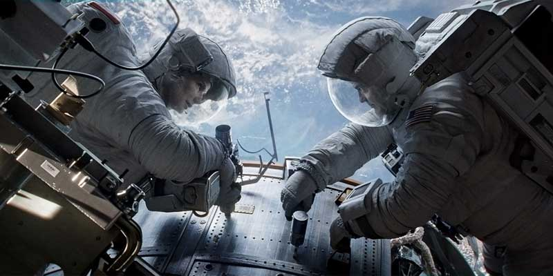Real astronauts are usually not this good looking. (Image: Warner Bros.)