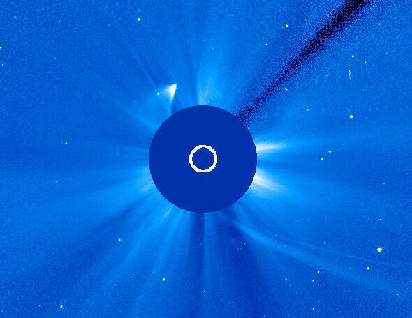Woah! Image credit: NASA/ESA/SOHO