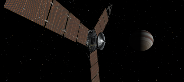 Juno at Jupiter! Simulation from NASA's Eyes on the Solar System